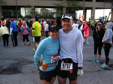 Cleveland Marathon - 2014