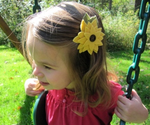 Flower Hair Barrette