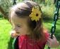 Flower Hair Barrette