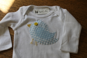 Bird Applique Shirt