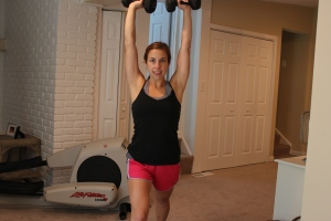 Standing Shoulder Press 2