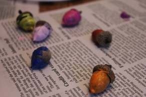 Graffiti Acorns