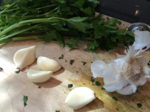 Parsley and Ingredients