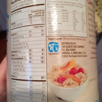 Quaker Rolled Oats