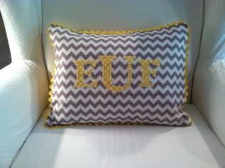 Monogram Pillow