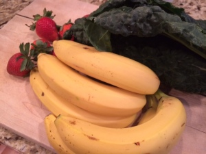 Kale Strawberry Banana