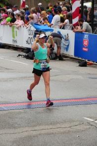Cleveland Marathon Finish